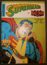SUPERMAN / BATMAN & ROBIN N°65/66 - BON ETAT - Edition SAGEDITION - Juin 1974