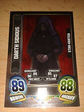 Force Attax Star Wars Serie 5 Star-Karte Nr.147 Darth Sidious Sammelkarte