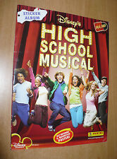 ALBUM FIGURINE PANINI HIGH SCHOOL MUSICAL WALT DISNEY 2006 INCOMPLETO NO POSTER