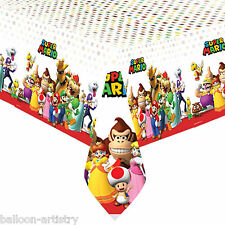 1.2mx1.8m Super Mario Bros & Friends Children's Party Plastic Table Cover