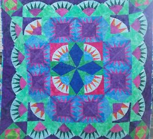 Evening Is Falling Wall Hanging Quilt