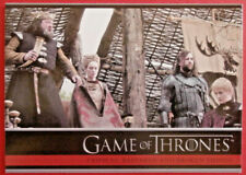 GAME OF THRONES - Season 1 - Card #12 - CRIPPLES, BASTARDS - Rittenhouse 2012