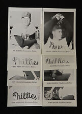 1960s PHILADELPHIA PHILLIES  PICTURE PACK TEAM SET