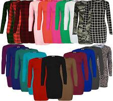 Women's Viscose Tunic Dresses Plus Size
