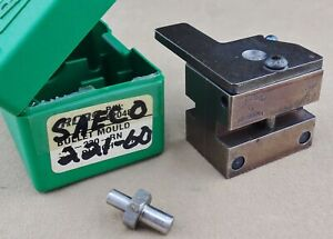 "Saeco Bullet Mold No.221 - .22 Cal (.225"" Dia) 60 Gr Spitzer Point Gas Check"