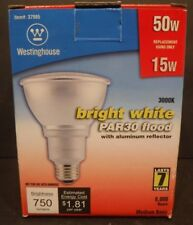 Westinghouse 37985 Par 30 15-Watt Compact Fluorescent Lamp W/ Aluminum Reflector