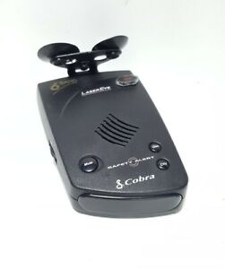 Cobra Laser Eye 360 Talking Radar Laser Detector 6 Band - No Power Cable