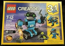 LEGO Creator Robo Explorer 31062, 3-in-1 Robot Toy Set Brand New Never Opened