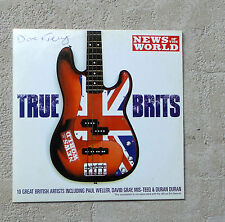 VARIOUS ARTISTS -TRUE BRITS- CD COMPILATION  PROMO 2004 10T SM/NOTW004GB SPIN M