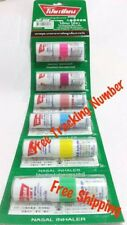 6 Pes Poy Sian Mark 2 II Nasal Relief Smell Dizziness Inhaler Bracing Breezy