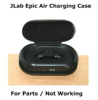 JLab Audio Epic Air True Wireless Charging Case ONLY For Parts / Not Working