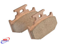 SUZUKI RM 125 250 1989-1990 AS3 RACING SINTERED REAR BRAKE PADS
