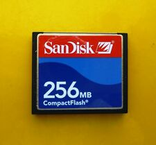 256 MB SanDisk CompactFlash CF Typ I Compact Flash  SDCFJ-256 256MB
