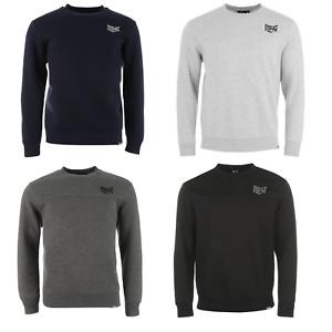 Everlast Pullover Sweatshirt Pulli Sweater Jumper Herren Sport Crew Neck XL 005