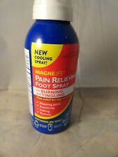 Magnilife Pain Relieving Foot spray 3.oz fresh & new