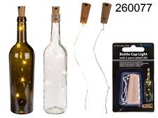 Bottle cap light with LED lights