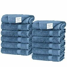 Chakir Turkish Linens Turkish Cotton Luxury Hotel & Spa Bath Towel, Wash Cloth -