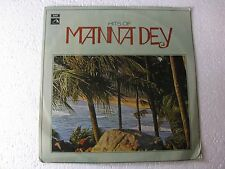 Hits of Manna Dey ECLP 2518 Bengali LP Record India NM-1442