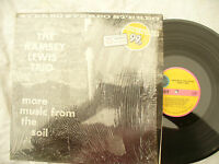 RAMSEY LEWIS TRIO LP MORE MUSIC FROM THE SOIL cadet 680 still in shrink.. 33 rpm