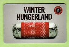 CHIPOTLE Winter Hungerland 2013 Gift Card ( $0 )