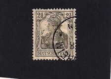 GERMAN EMPIRE Stamp 1916-1918 Typo O but Unhatched Background (E3)