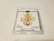 Sizzix Ellison Ornamental Crest Die cut Big Shot BIGkick Vagabond 657737