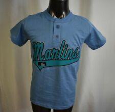 Don Alleson MLB Miami Marlins Baseball Youth Henley Shirt S
