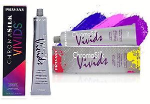 PRAVANA CHROMASILK VIVIDS 90ml Hair Colour (New) FREE EXPRESS POST ORDERS $50+