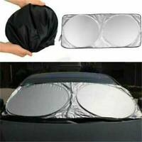 Portable Car Front Rear Windshield Foldable Sun Shade Shield Visor UV Block Hot