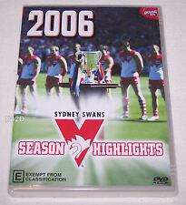 Sydney Swans AFL 2006 Season Highlights DVD New