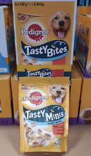Pedigree Tasty Minis Cheesy Bites Box Of 6 x 140gm Bags 21.04.2021
