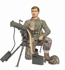 """Dragon 1/6 Scale 12"""" WWII US Soldier USMC Marine Machine Gunner Eric Stark 70765"""
