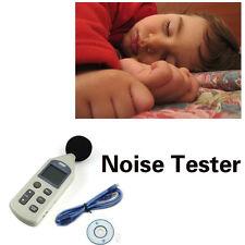 USB Rausch Digital Sound Pressure Level Meter Decibel Mess 30-130dB