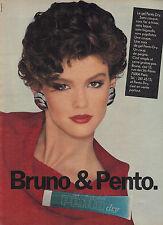 PUBLICITE  1977   PENTO  gel coiffant DRY