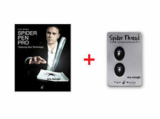 Spider Pen Pro (w/ DVD) Yigal Mesika w/ extra Spider thread Magic Trick T11 FISM