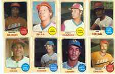 1974 Venezuelan Venezuela Baseball Lot B  8 diff. VG-EX
