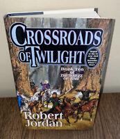 Robert Jordan Crossroads of Twilight Wheel of Time #10 1st Edition 1st Printing