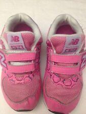 NEW BALANCE - scarpe da ginnastica per bambina - colore rosa - lunghe 18 cm -
