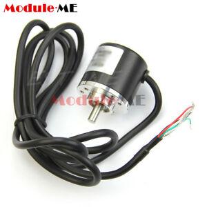 360P/R Incremental Rotary Encoder AB phase encoder 6mm Shaft W coupling