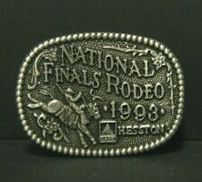 Vintage 25th Anniversary Hesston National Finals Rodeo hat pin tie tac lapel pin
