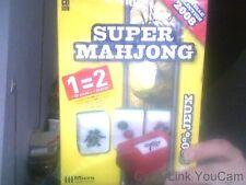 "Logiciel de jeux PC CD ROM Micro Application "" Super Mahjong """