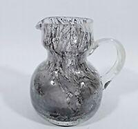 Peill Rondella Glas Krug Schleiergraphit Bleikristall 60er Jahre Peill & Putzler