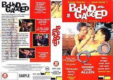 Bound & Gagged, Ginger Lynn Allen Video Promo Sample Sleeve/Cover #15203