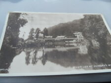 Cork Ireland   River Lee Sunday's Well   POSTED 1955   PHOTO  POSTCARD VINTAGE