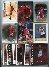 LOT OF (24) DIFFERENT MICHAEL JORDAN CARDS, CHICAGO BULLS, HOF, 080220