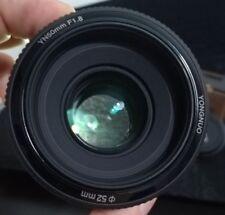 Obiettivi YONGNUO per fotografia e video Apertura massima F/1.8