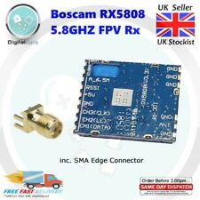NEW SPI Enabled Boscam RX5808 FPV 5.8G Wireless Audio Video Receiver Module