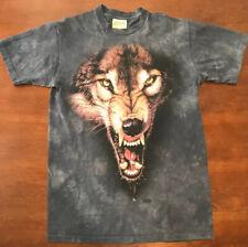 Vintage The Mountain Fierce Wolf Shirt USA Mens Medium 99'