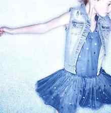 STELLA MCCARTNEY KIDS BABY BELL BLUE TULLE DRESS 3 YEARS