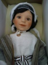 Danbury Mint Young Noah Porcelain Doll With Animals in Original Box